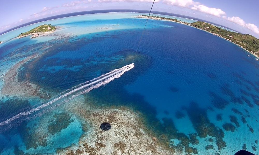 Bora Bora Parasailing Things To Do In Bora Bora Tahiti Com