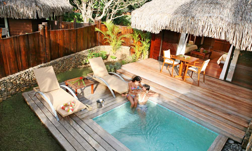 Manava beach resort and spa formerly moorea pearl resort for Garden pool bungalow intercontinental moorea