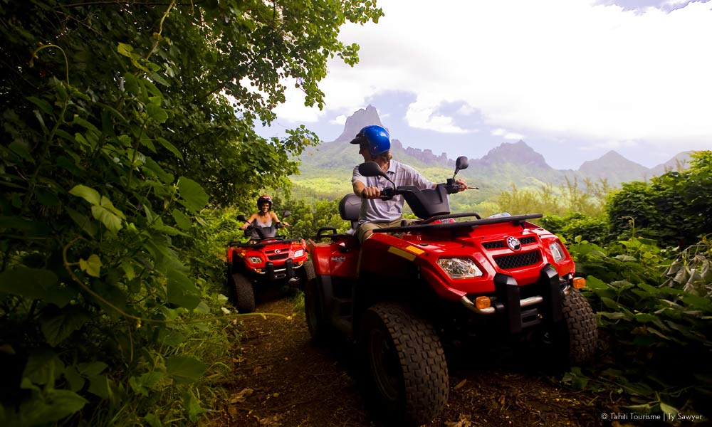 Atv Adventure Excursion Things To Do In Moorea Tahiti Com