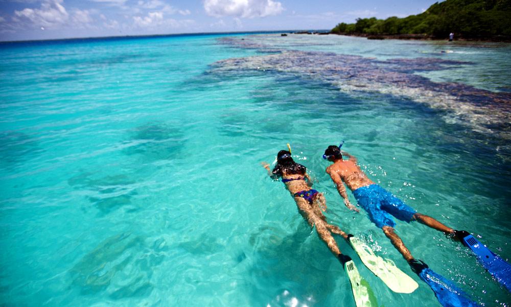 Tahiti Island Beach
