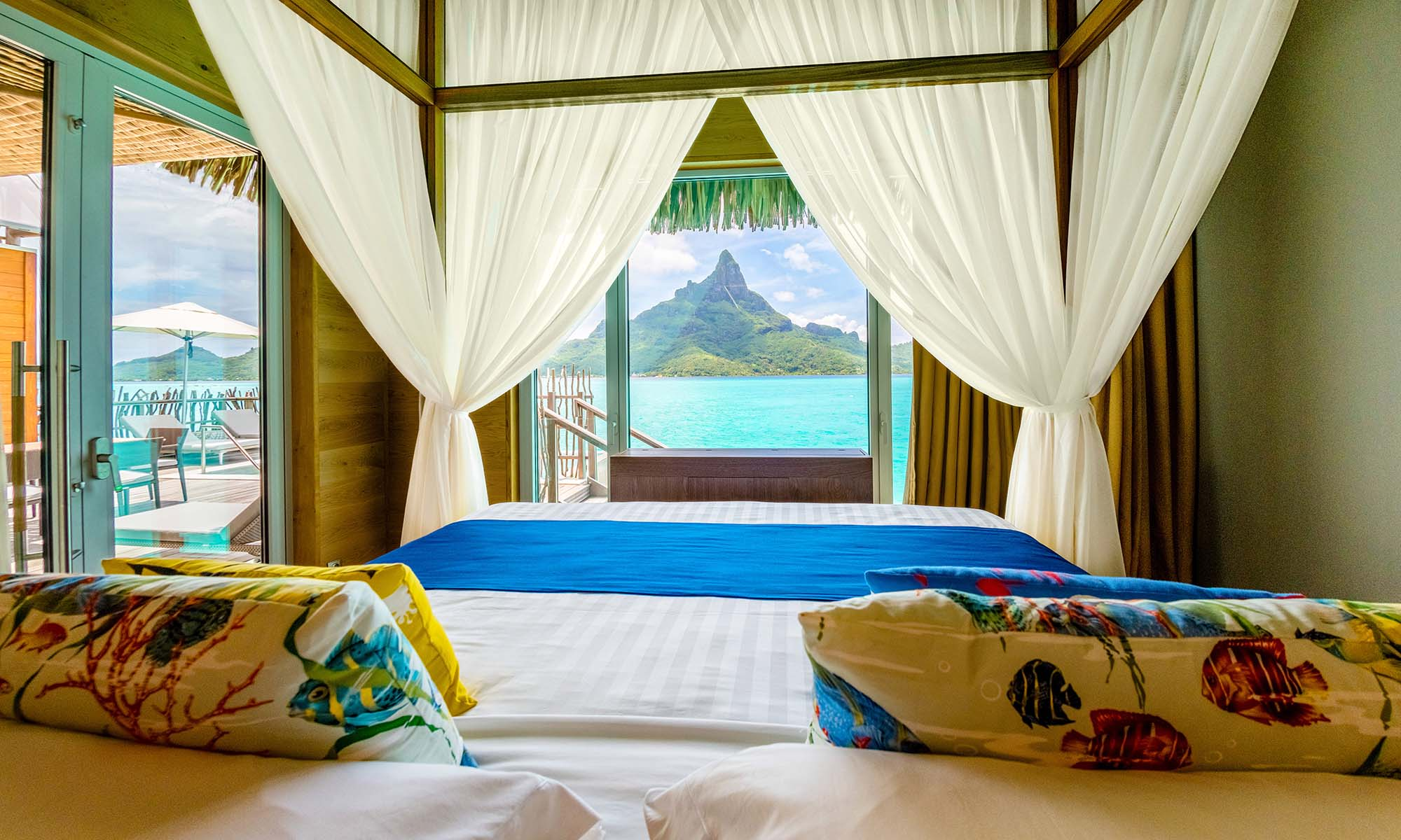 InterContinental Bora Bora Resort & Thalasso Spa, Brando Suite Bedroom