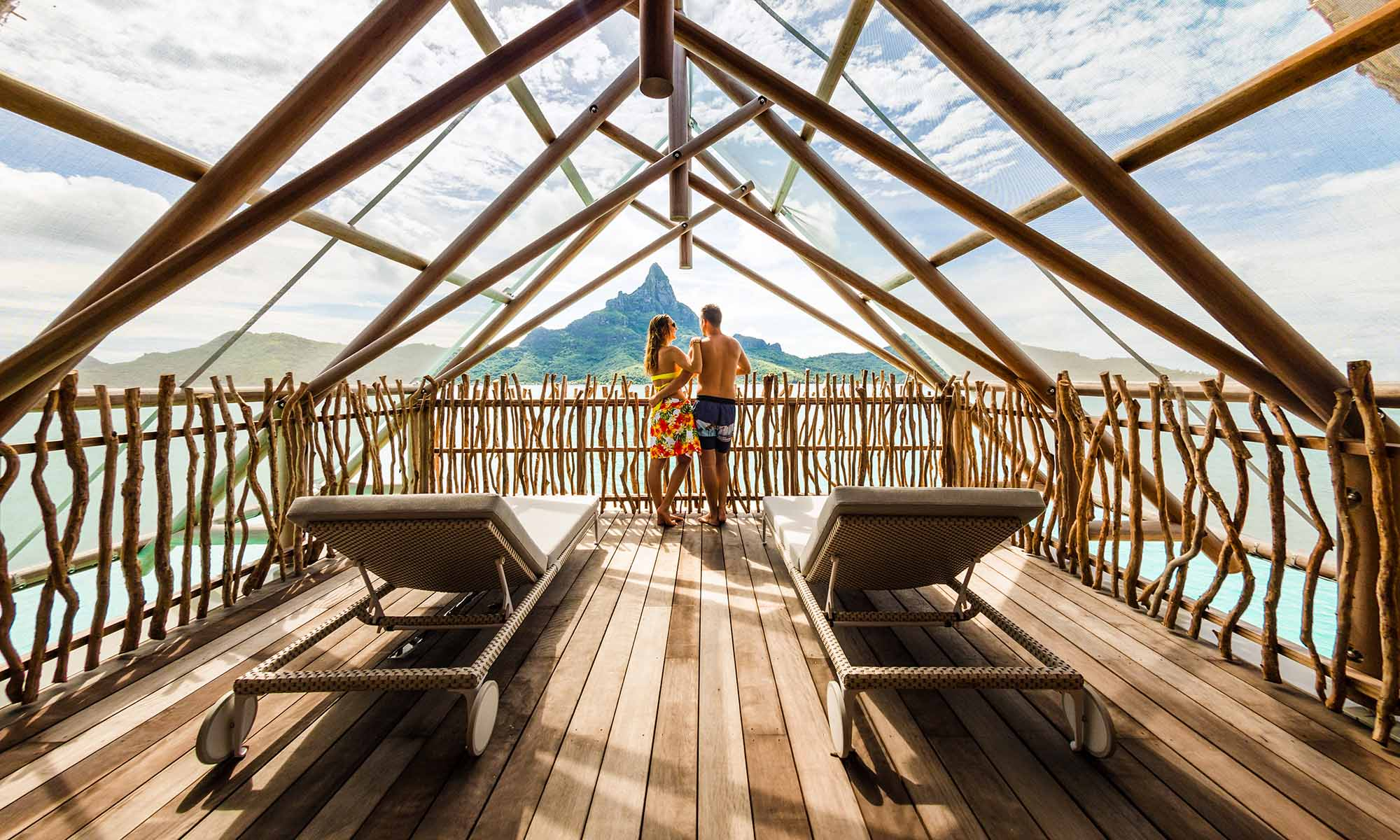 InterContinental Bora Bora Resort & Thalasso Spa, Brando Suite Upper Deck