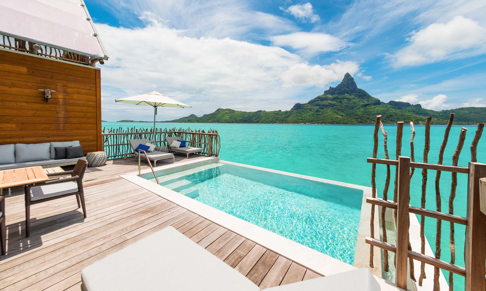 InterContinental Bora Bora Resort & Thalasso Spa, Brando Suite Pool