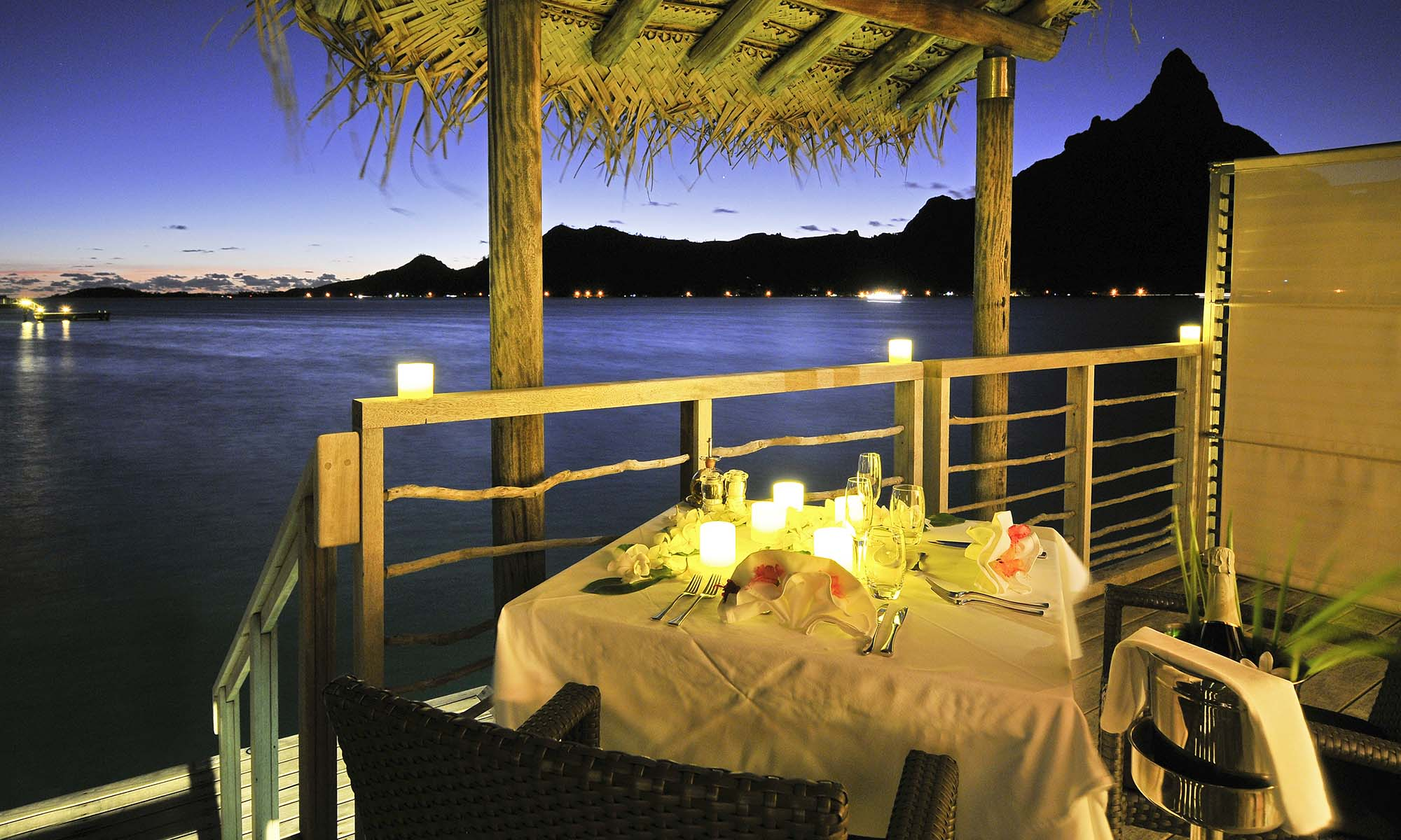 InterContinental Bora Bora Resort & Thalasso Spa, In-Room Dinner