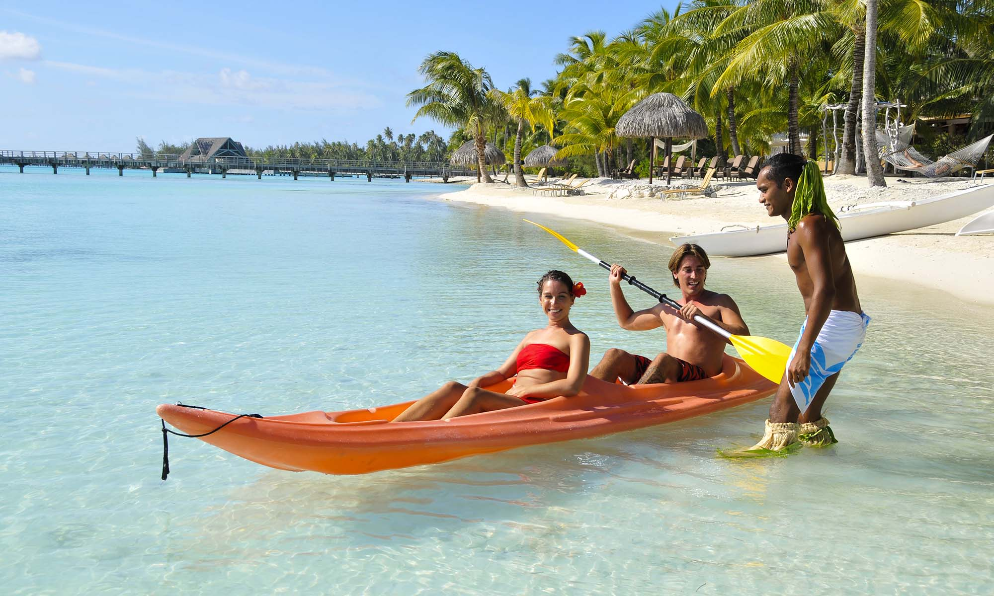 InterContinental Bora Bora Resort & Thalasso Spa, Kayaking