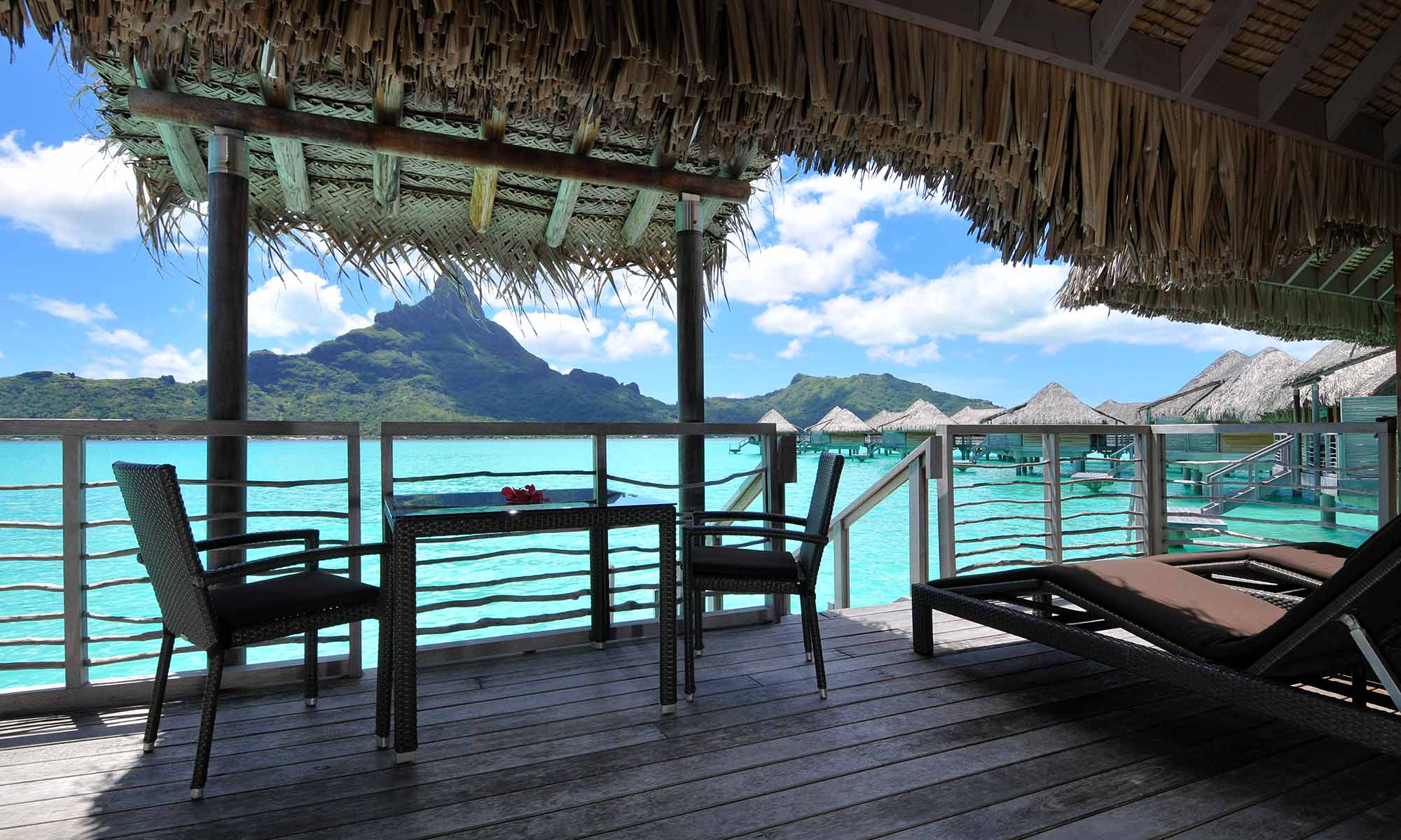 InterContinental Bora Bora Resort & Thalasso Spa, Overwater Villa Deck