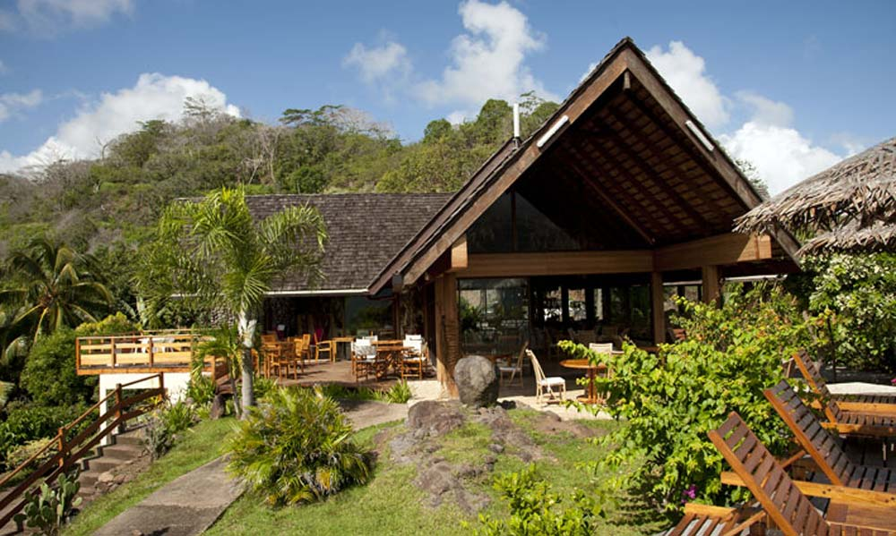 Hiva Oa Hanakee Pearl Lodge, Main Lodge