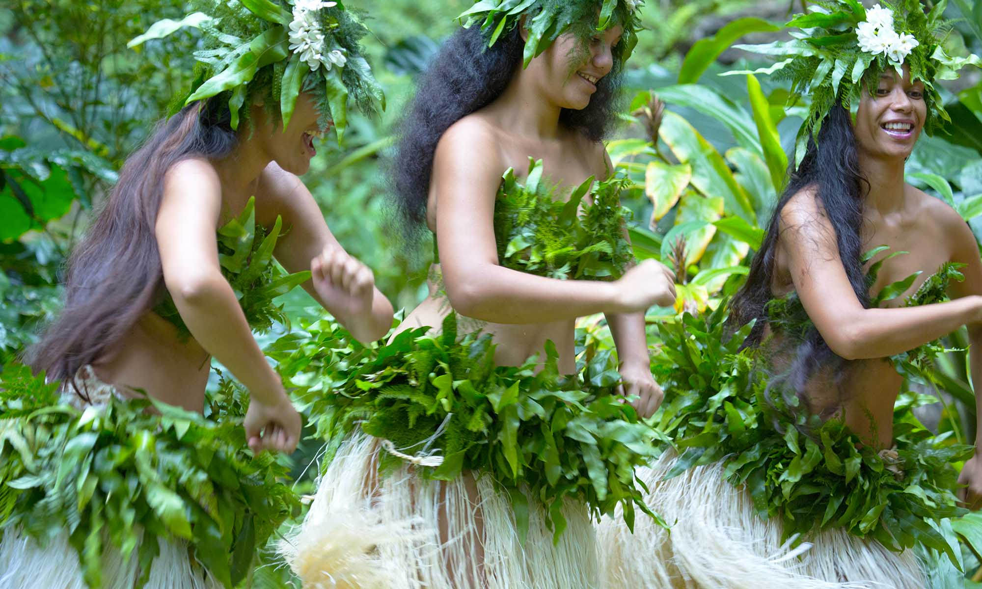 Traditional Polynesian Dance on the Austral Islands