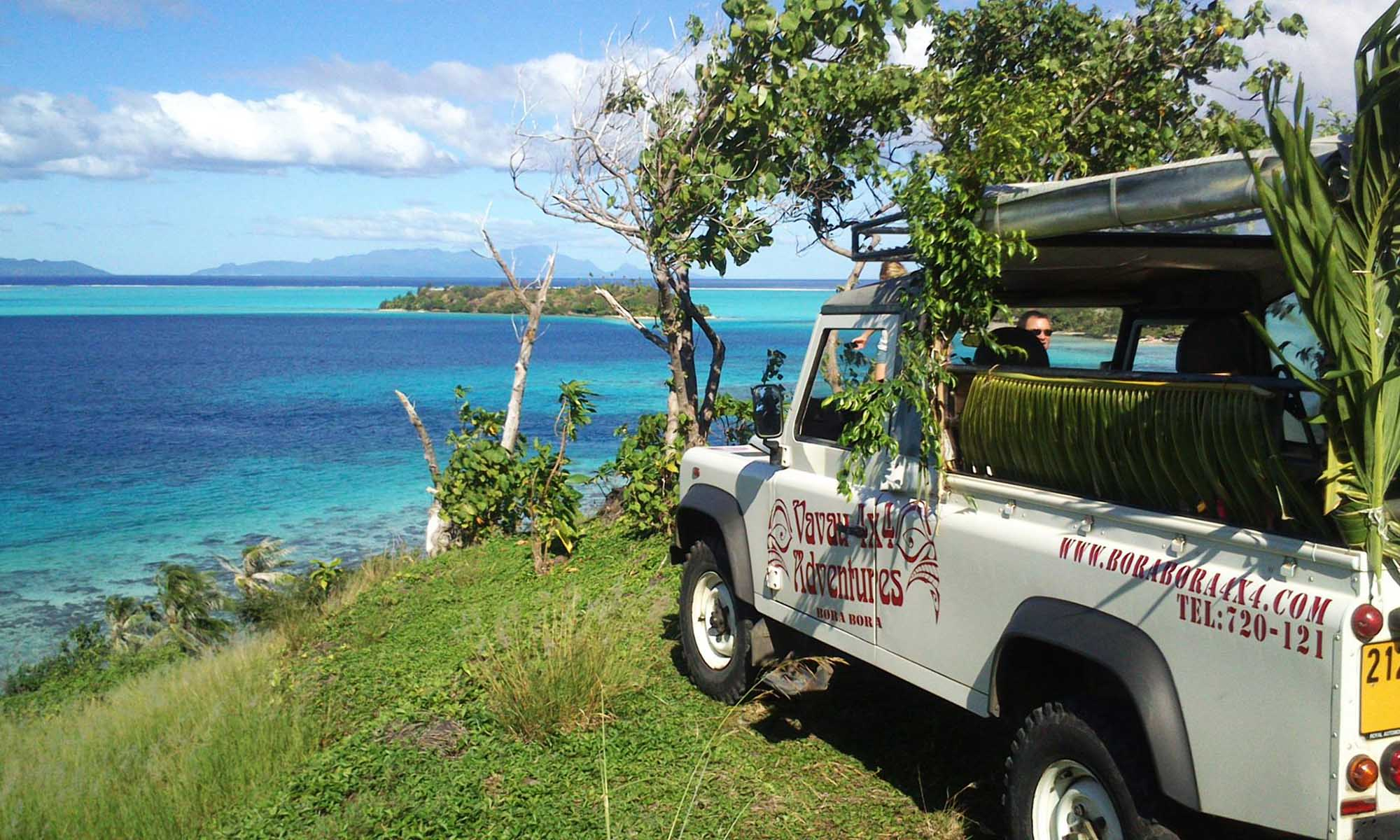 Bora Bora, 4x4 Jeep Safaris