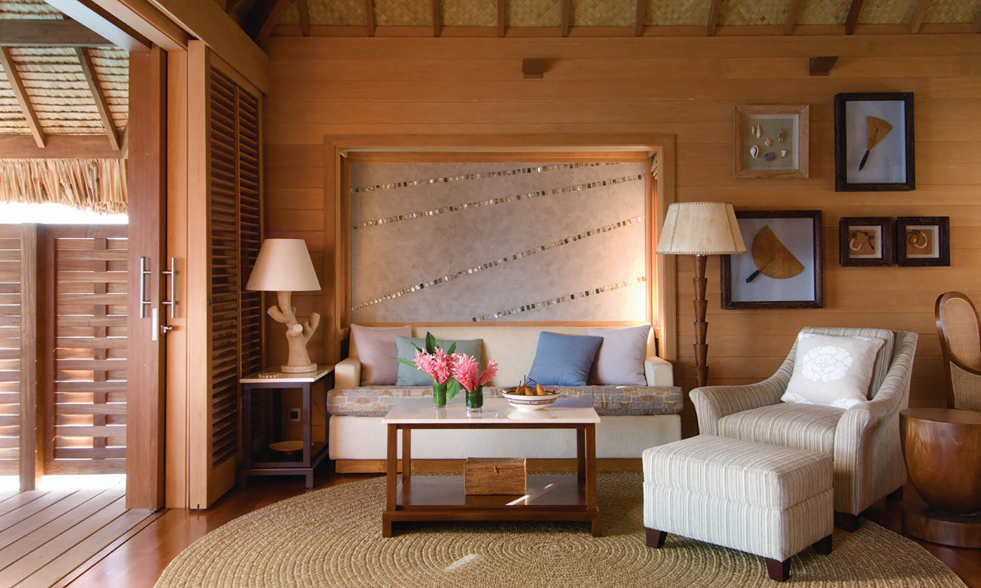 Four Seasons Resort Bora Bora, Overwater Bungalow Interior