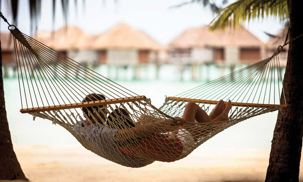 Four Seasons Resort Bora Bora, Hammock Couple