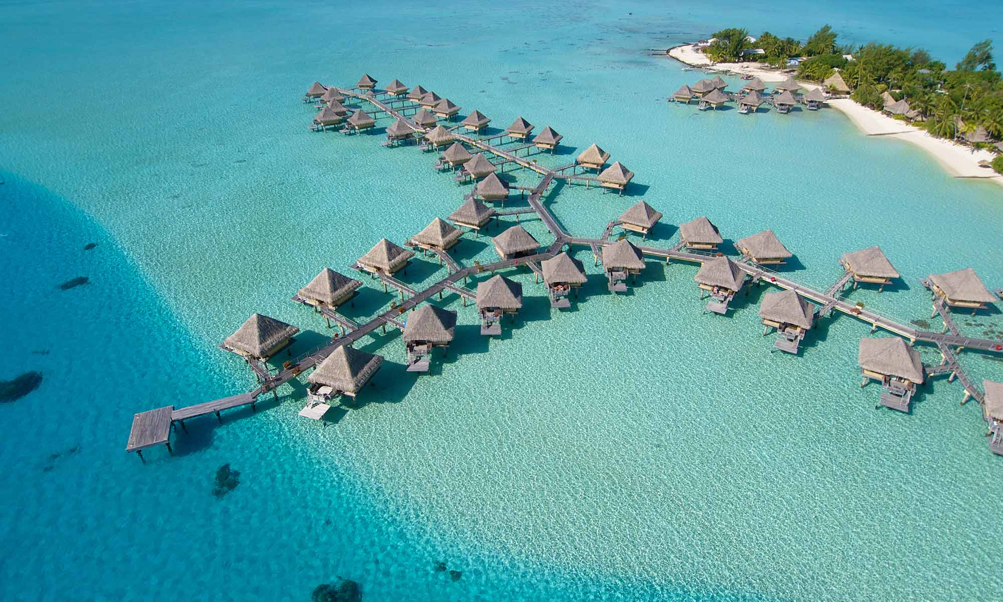 InterContinental Bora Bora Le Moana Resort, Aerial View
