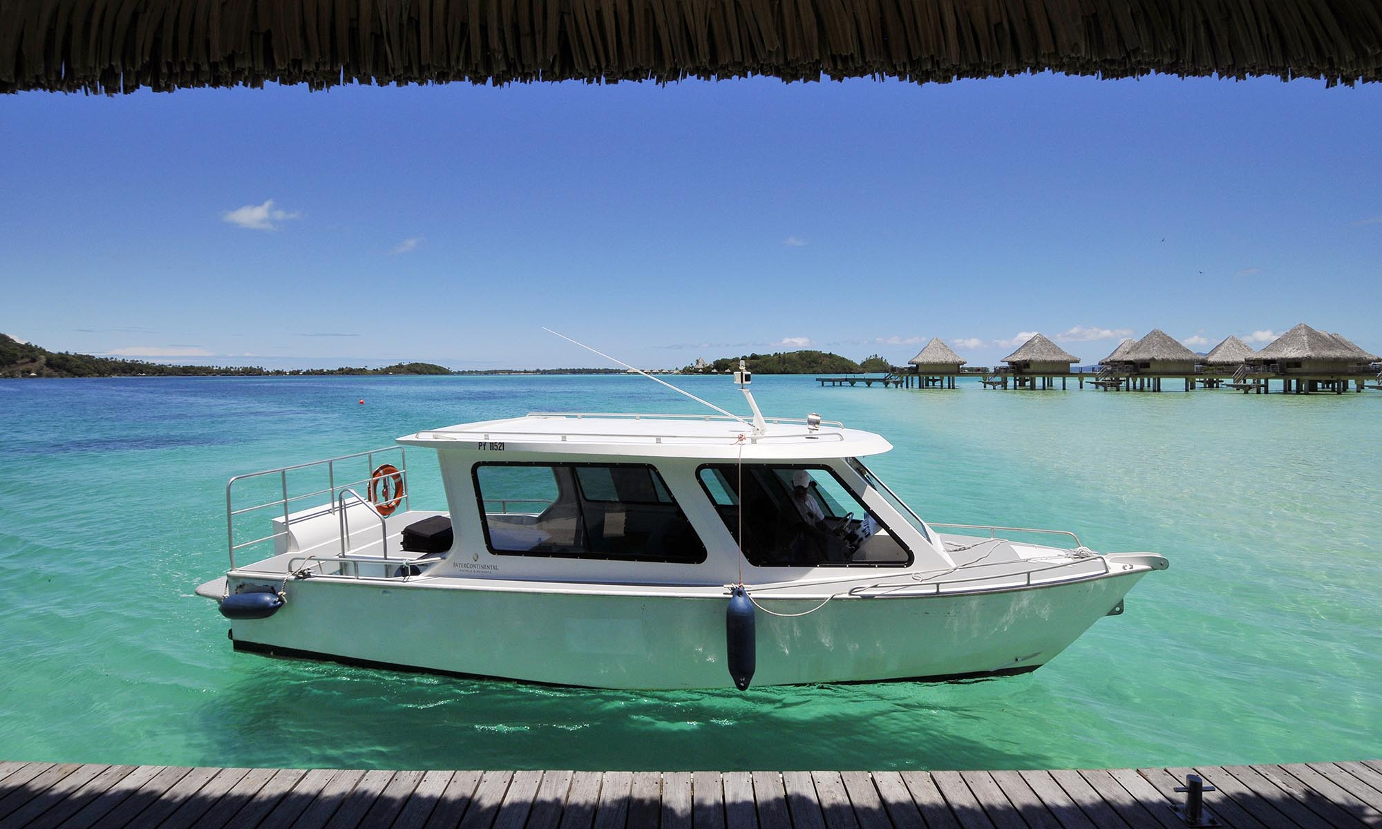 InterContinental Bora Bora Le Moana Resort, Transfer Boat