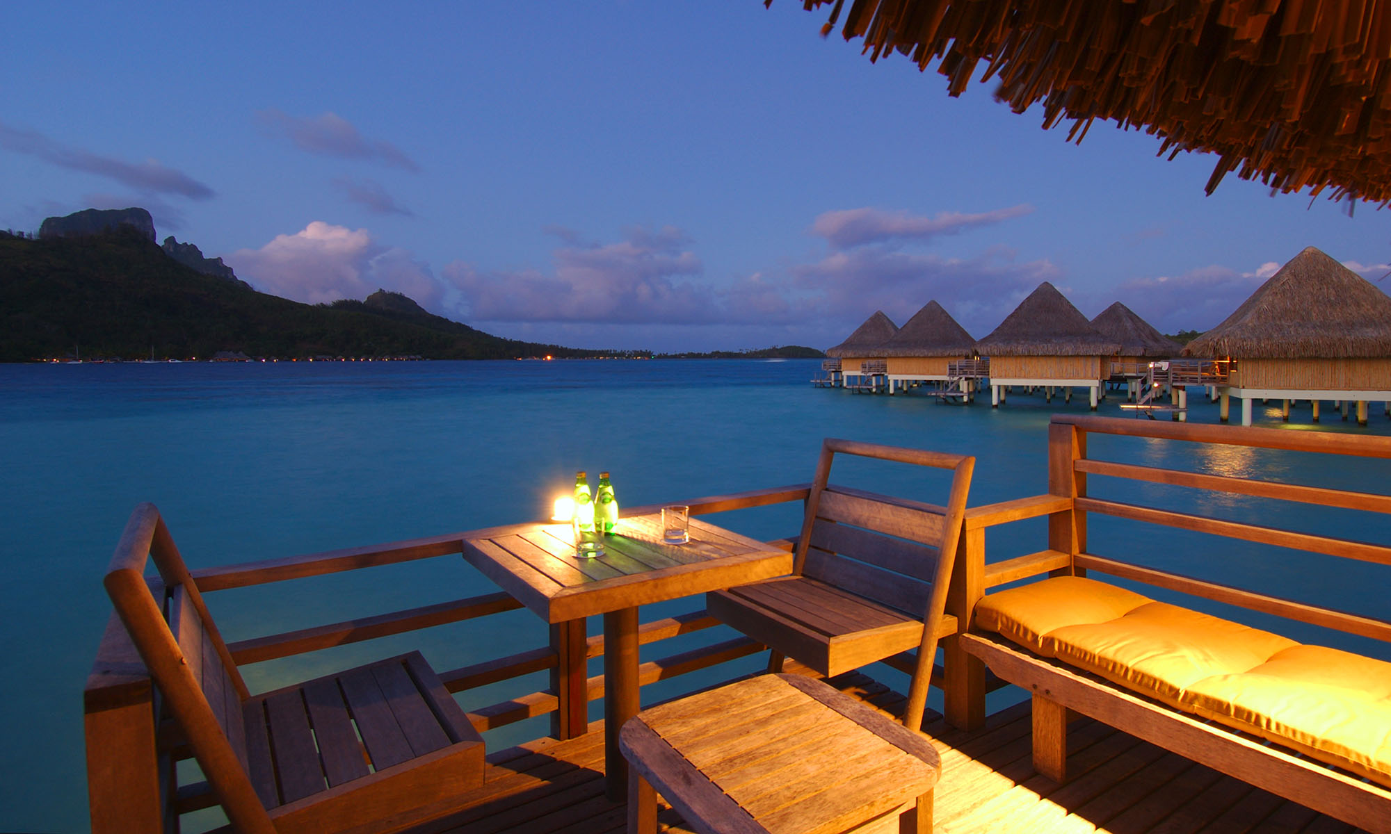 InterContinental Bora Bora Le Moana Resort, Overwater Bungalow Deck