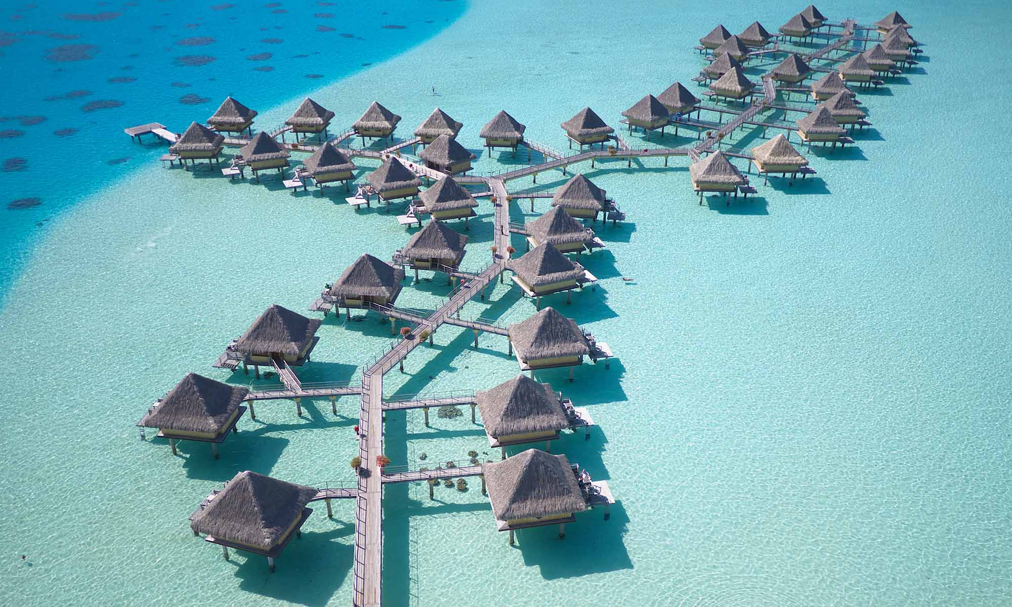 InterContinental Bora Bora Le Moana Resort, Overwater Bungalows