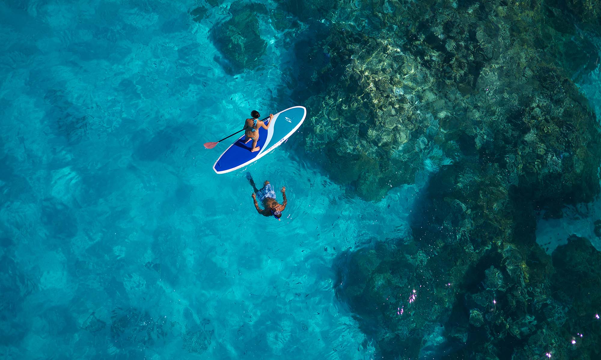 InterContinental Bora Bora Le Moana Resort, Paddleboarding