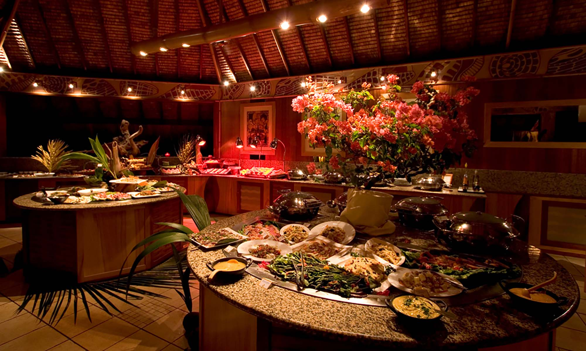 InterContinental Bora Bora Le Moana Resort, Buffet