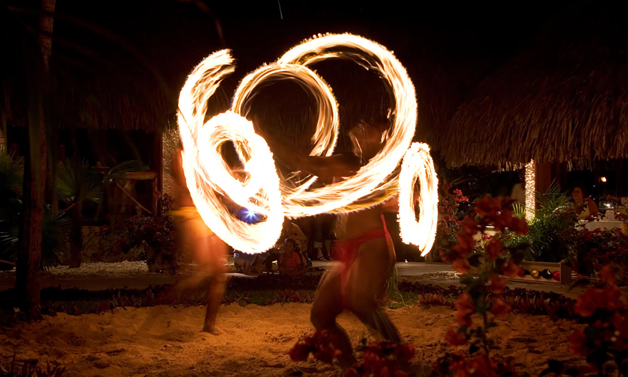 InterContinental Bora Bora Le Moana Resort, Polynesian Fire Dance