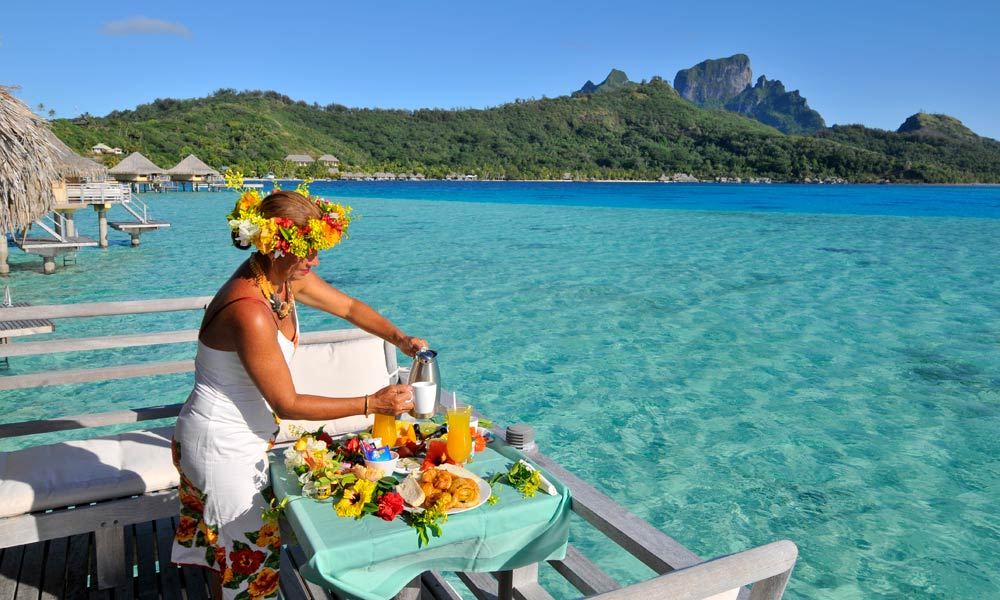 InterContinental Bora Bora Le Moana Resort, Breakfast
