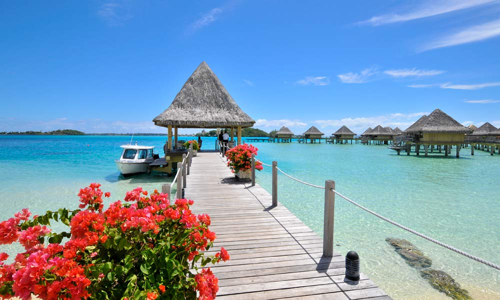 InterContinental Bora Bora Le Moana Resort, Arrival Dock
