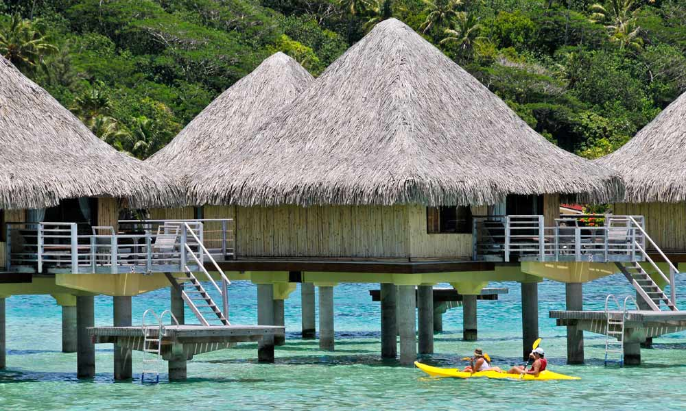 InterContinental Bora Bora Le Moana Resort, Overwater Bungalow