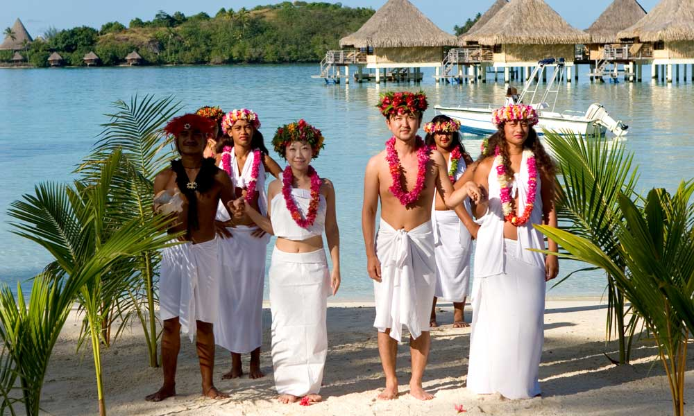 InterContinental Bora Bora Le Moana Resort, Polynesian Wedding