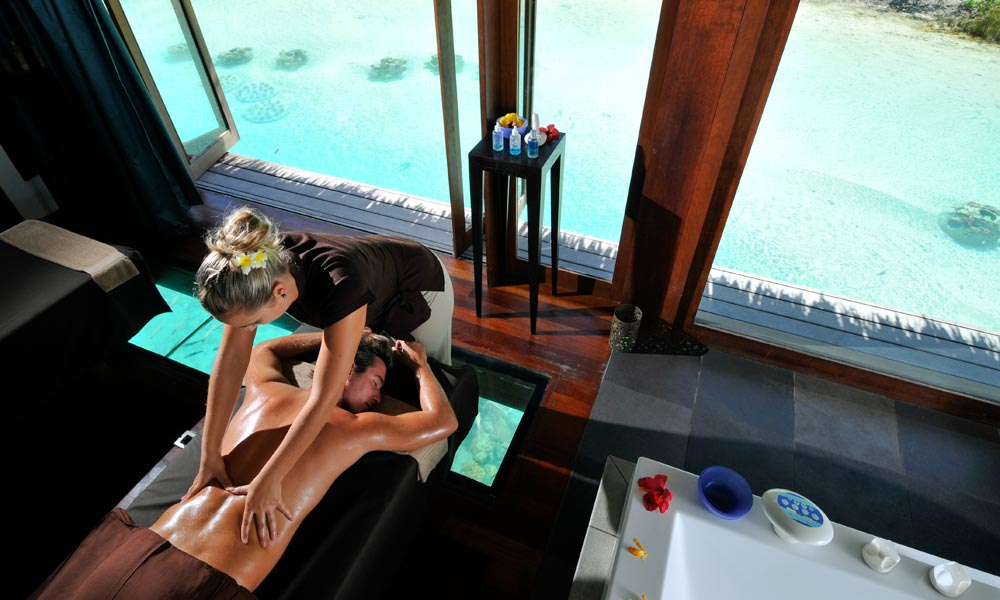 InterContinental Bora Bora Resort & Thalasso Spa, Massage