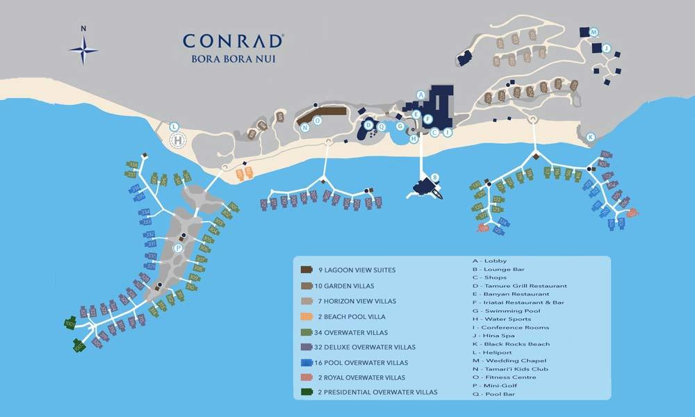 Conrad Bora Bora Nui A Bora Bora Resort Amp Spa Tahiti Com