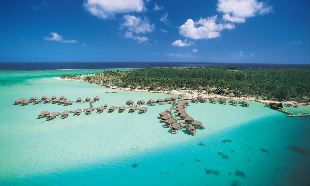 Bora Bora Pearl Beach Resort & Spa, Aerial View