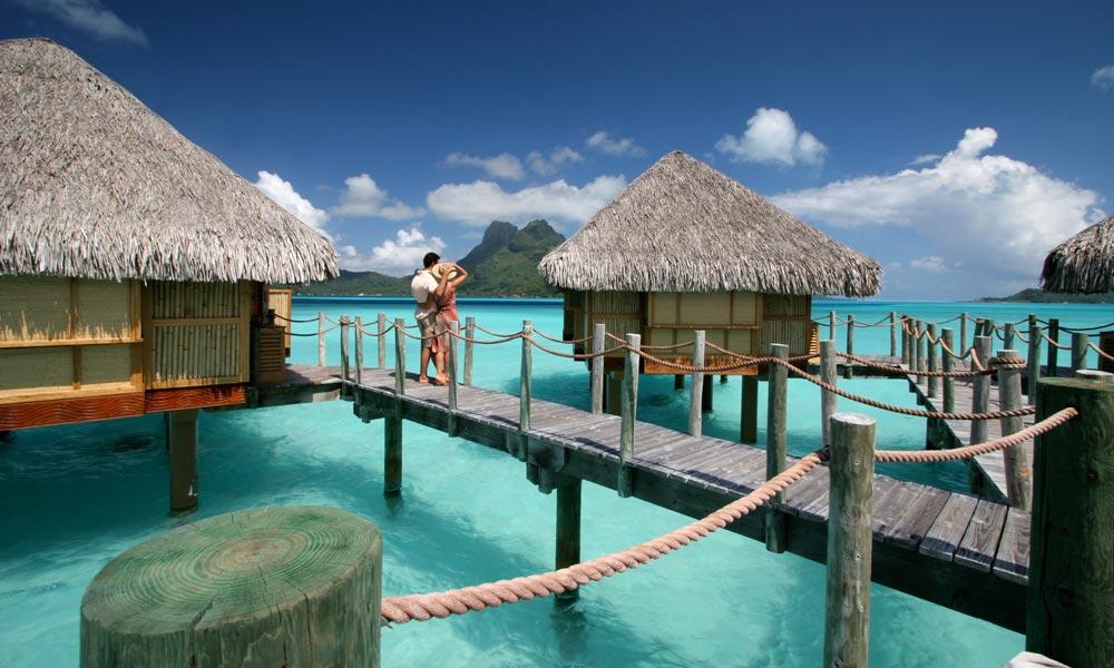 Bora Pearl Beach Resort Spa Overwater Bungalows