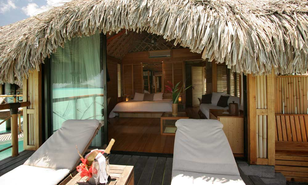 Bora Pearl Beach Resort Spa Overwater Bungalow