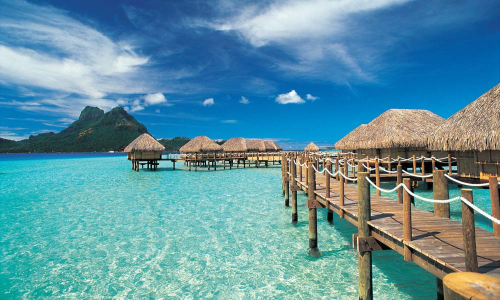 Bora bora pearl beach resort and spa Overwater bungalows fiji