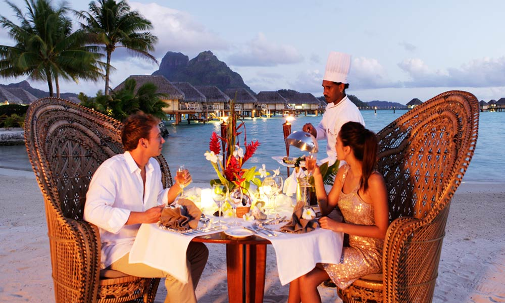 Bora Bora Pearl Beach Resort & Spa, Romantic Dinner