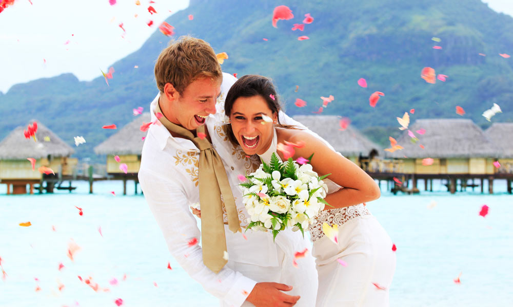Bora Pearl Beach Resort Spa Polynesian Wedding