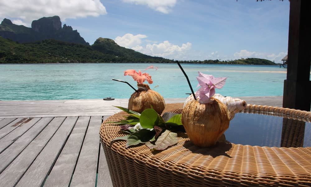 Sofitel Bora Bora Private Island, Coconut Welcome