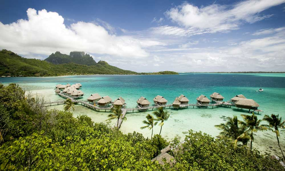 Sofitel Bora Bora Private Island, Mt Uuta View
