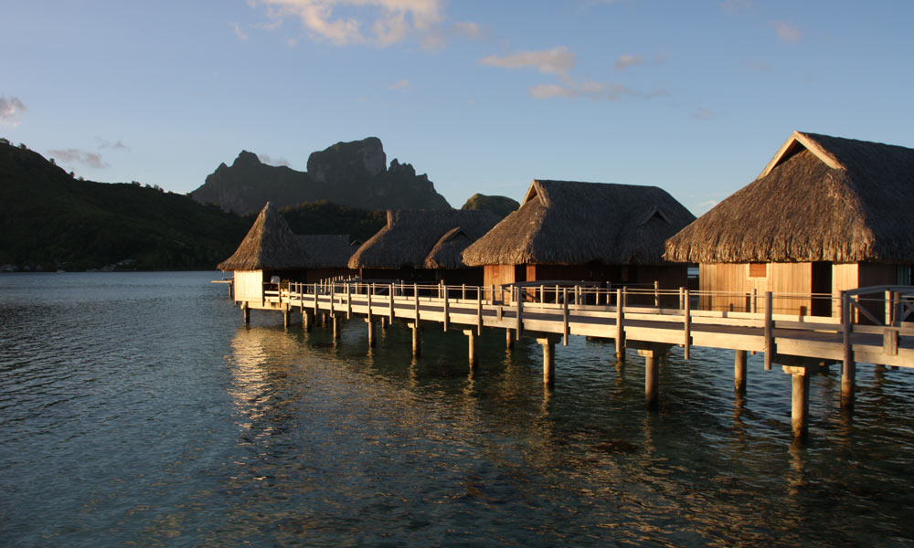 Sofitel Bora Bora Private Island, Sunset