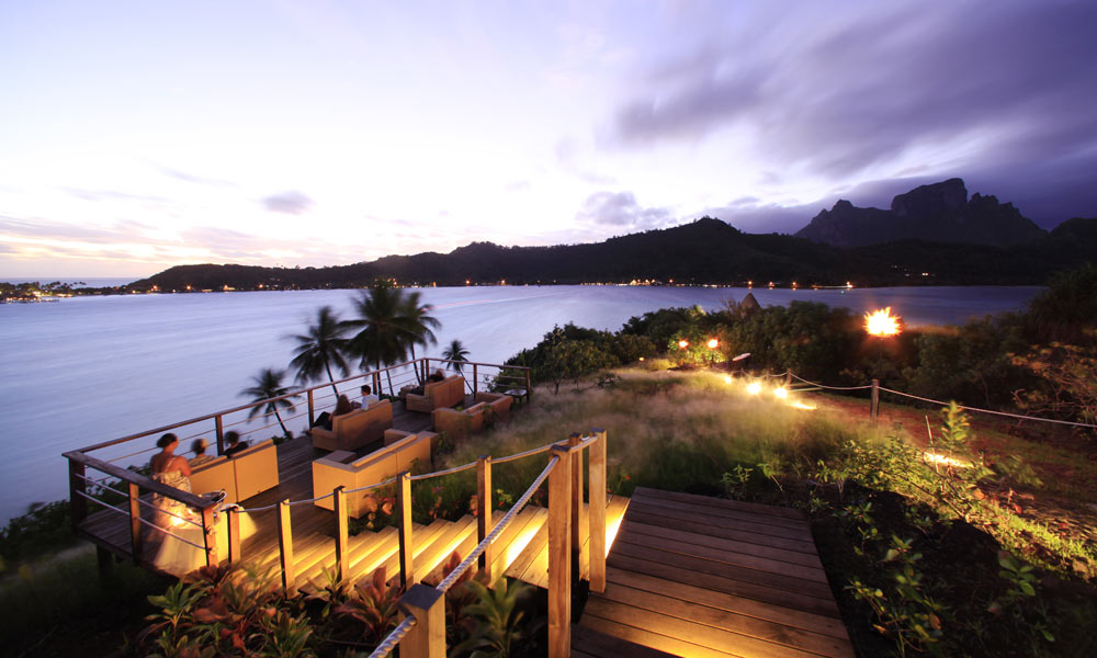 Sofitel Bora Bora Private Island, Sunset View