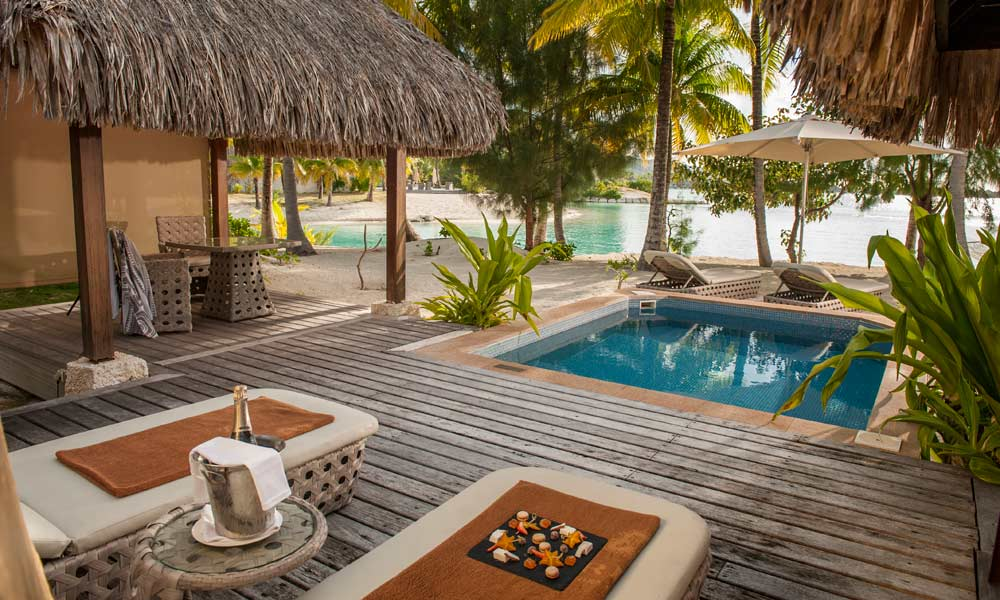 St Regis Bora Bora Resort, Plunge Pool
