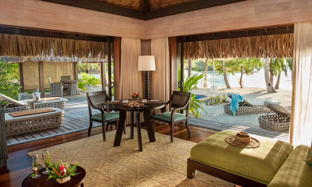St Regis Bora Bora Resort, Sunroom