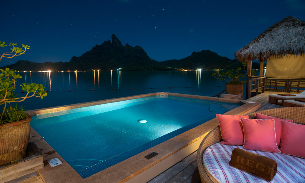 St Regis Bora Bora Resort, Terrace