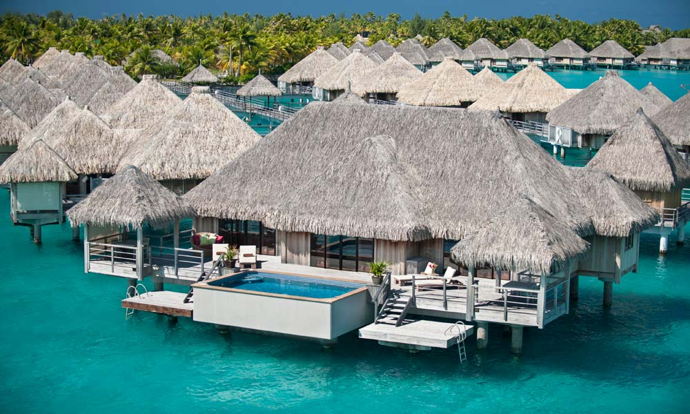 St Regis Bora Bora Resort, Two Bedroom Royal Overwater Villa