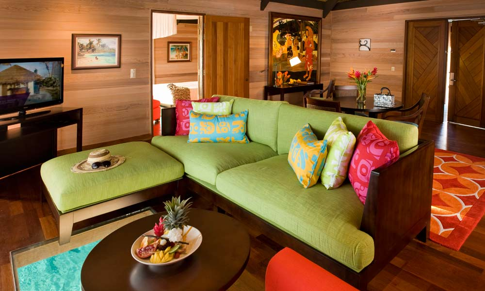 St Regis Bora Bora Resort, Sitting Room