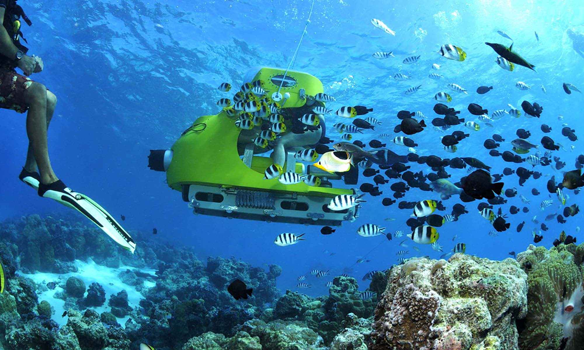 Bora Bora Underwater Scooter | Tahiti.com