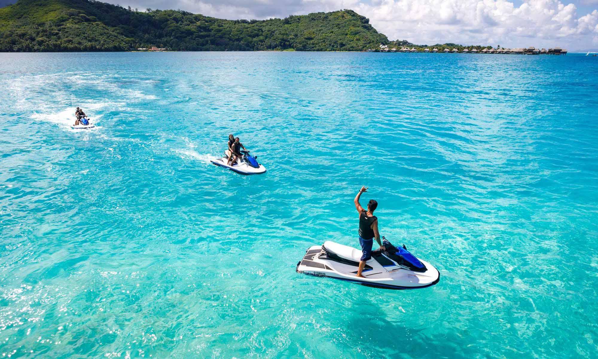 Circle Island Tour by Jet Ski, Bora Bora Activities   Tahiti.com