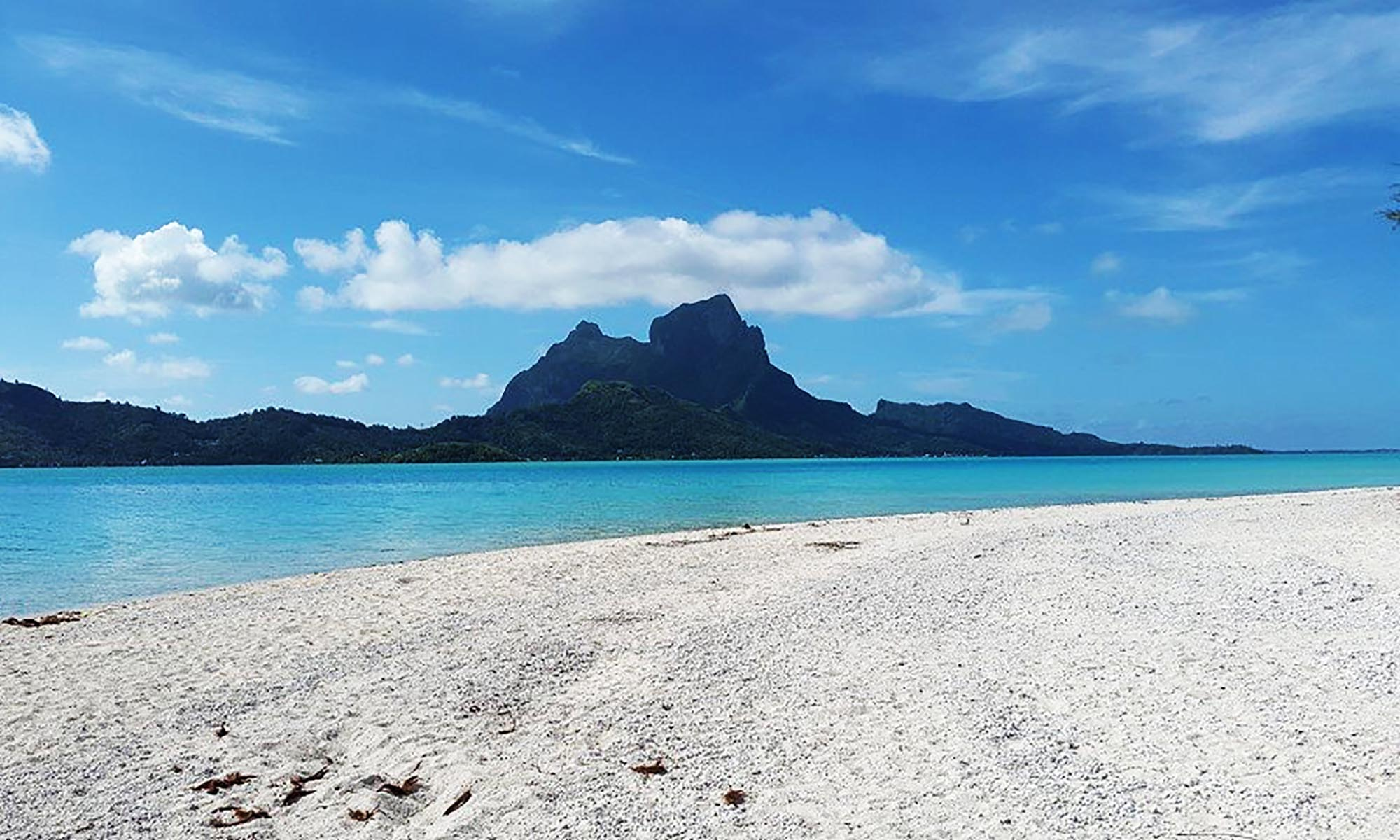 Raanui Tours, Full-Day Bora Bora Lagoon Cruise & Motu Tahitian Barbecue - View from Motu Tapu