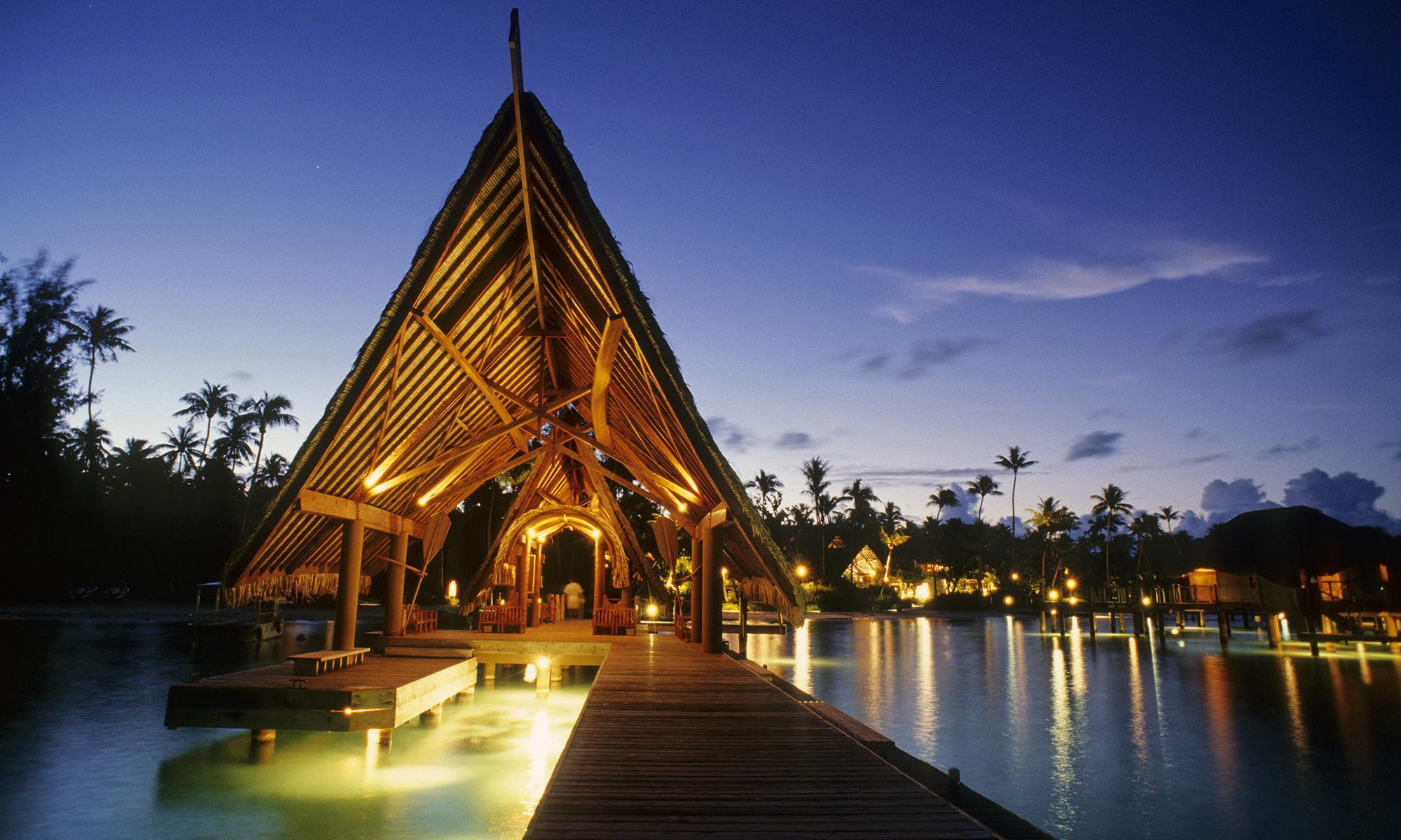 Bora Bora Pearl Beach Resort & Spa, Arrival Dock