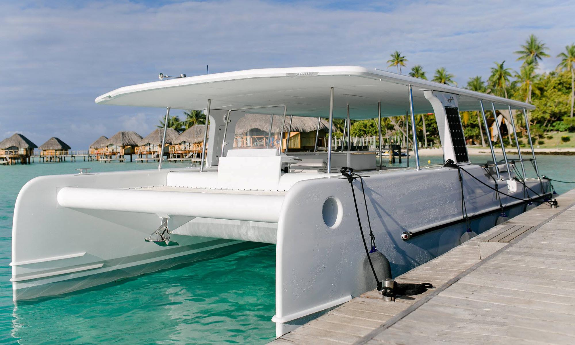 Bora Bora Pearl Beach Resort & Spa, Solar Catamaran