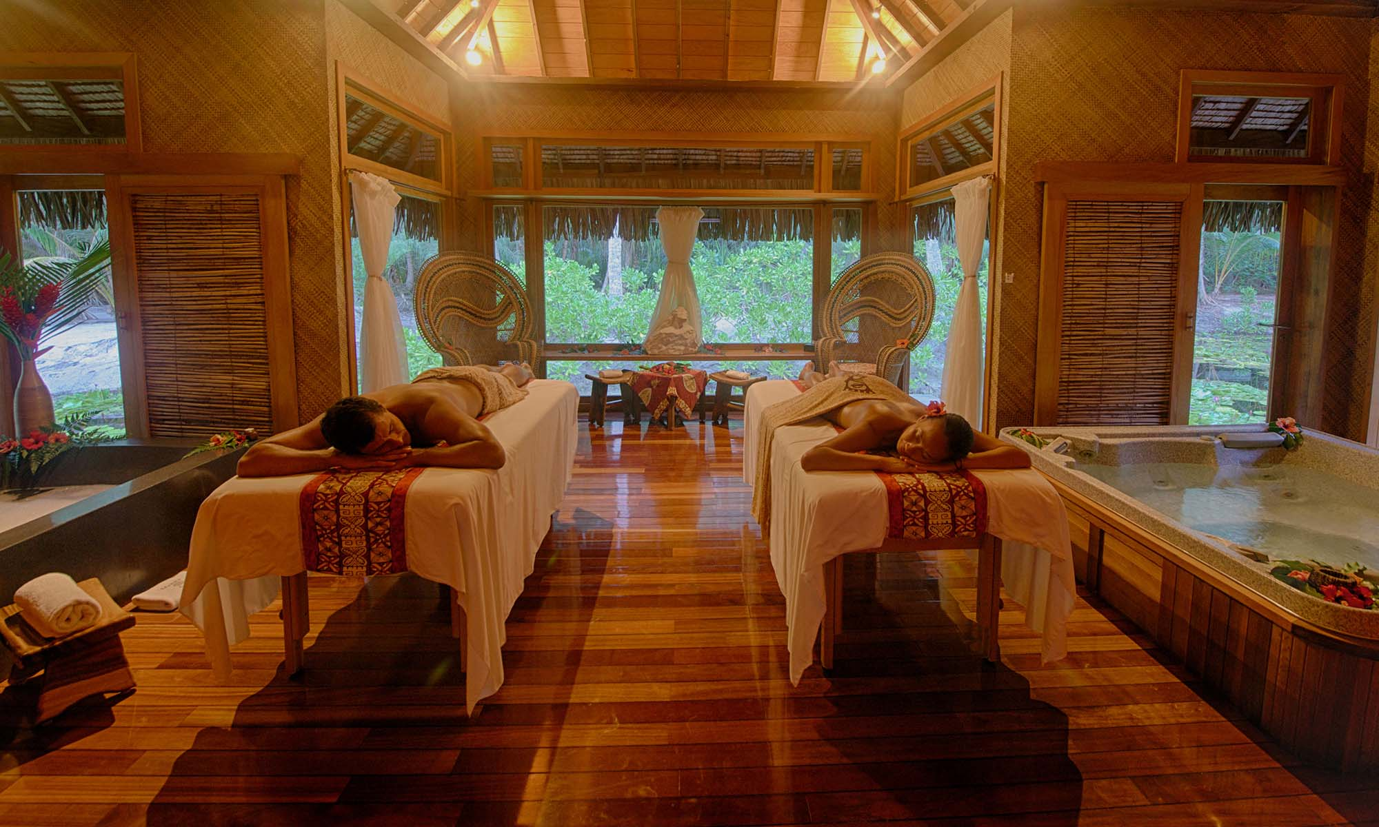 Bora Bora Pearl Beach Resort & Spa, Tavai Spa Couples Massage