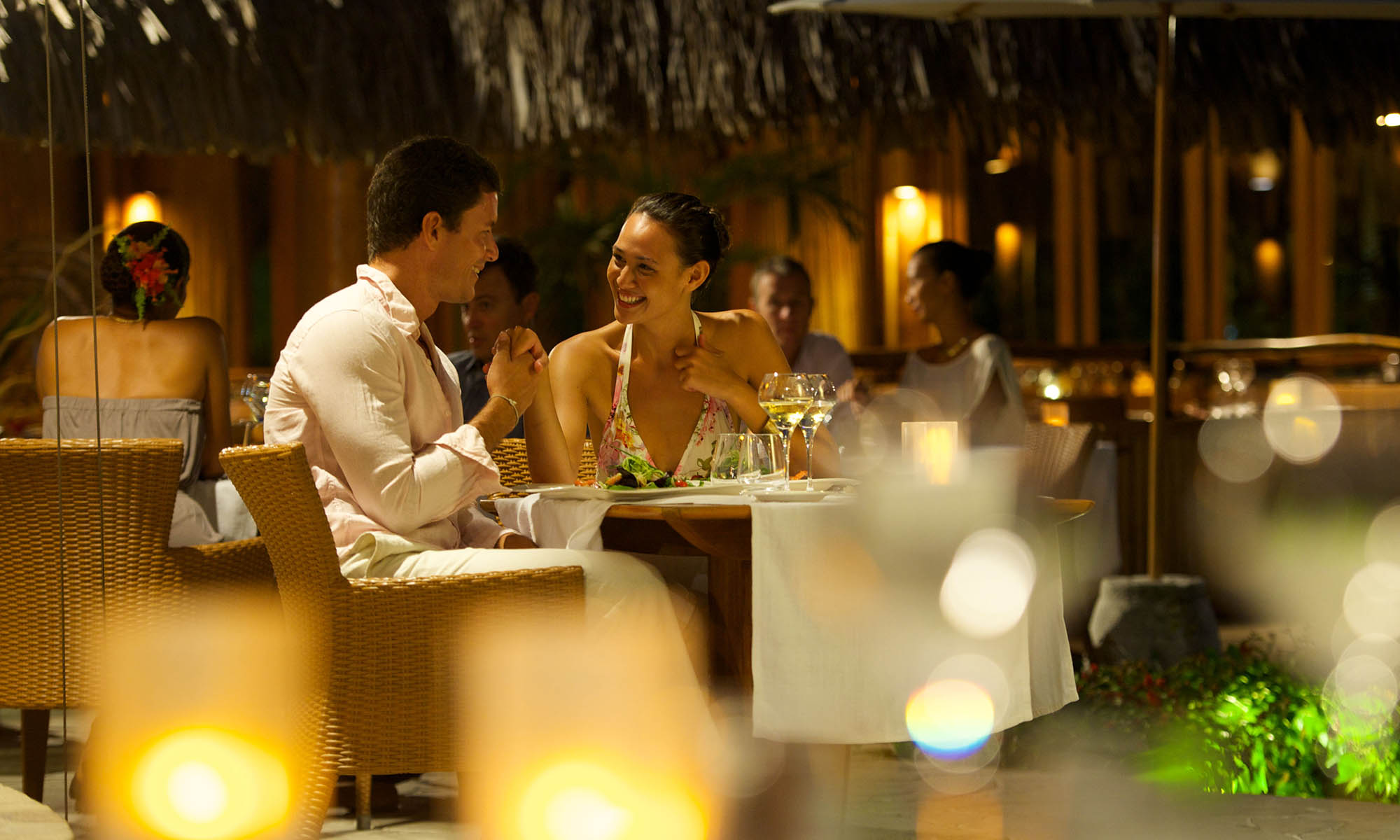 Bora Bora Pearl Beach Resort & Spa, Tevairoa Restaurant